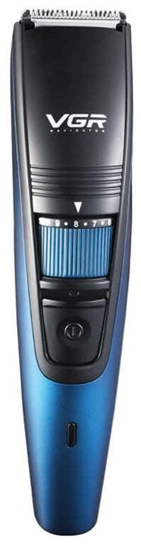 VGR V-052 Professional Beard & Hair Trimmer For Men (Black;Blue)