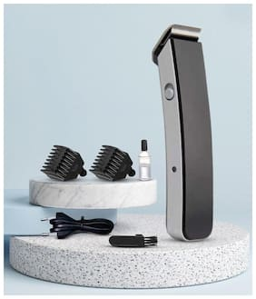 Zulx Zlx-1046 Rechargeable Cordless Beard & Hair Trimmer For Man (Black)