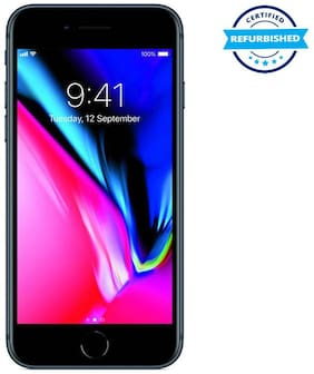 Refurbished Apple iPhone 8 2 GB 64 GB Space Grey  (Grade: Excellent)