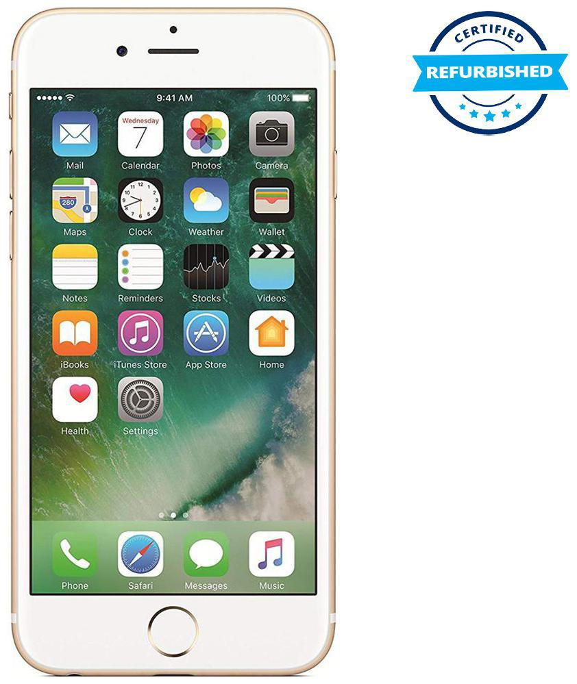 Refurbished Apple iPhone 6 1 GB 16 GB Gold (Grade: Excellent)