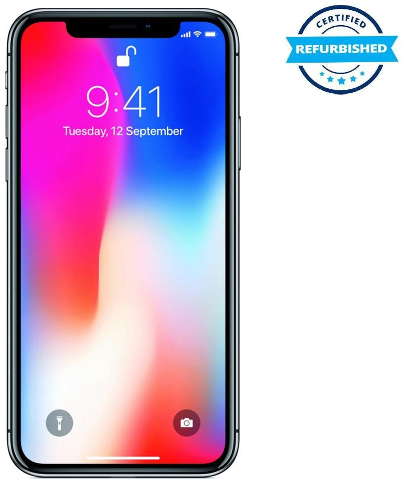 Refurbished Apple iPhone X 3 GB 256 GB Space Grey (Grade: Good)