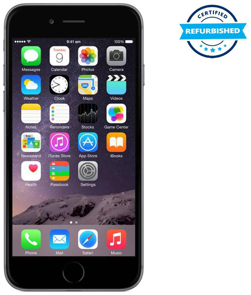 Refurbished Apple iPhone 6 16 GB Space Grey (Grade: Good)