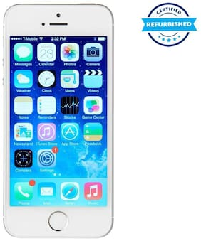 Used Apple iPhone 5S 1GB 16GB Silver  (Grade: Excellent)