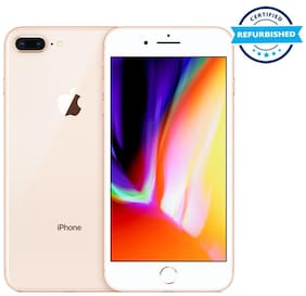 Refurbished Apple iPhone 8 Plus 3 GB 64 GB Gold  (Grade: Excellent)