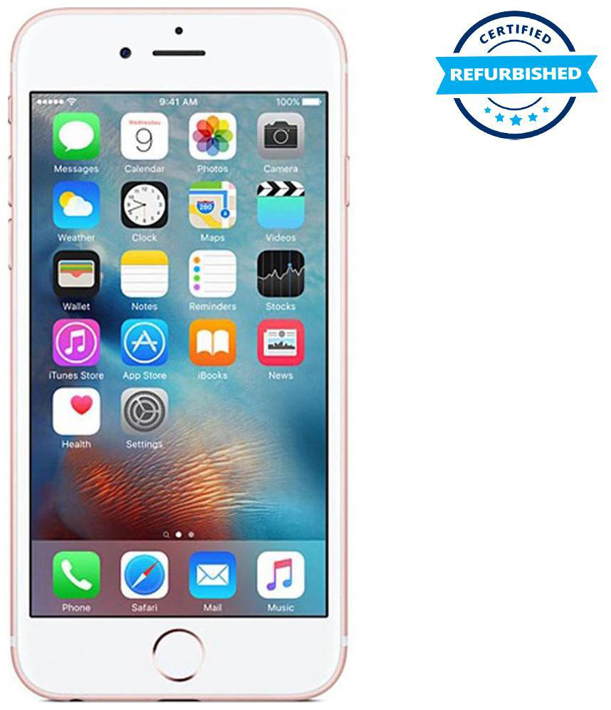 Refurbished Apple iPhone 6s 2 GB 64 GB Rose Gold (Grade: Excellent)