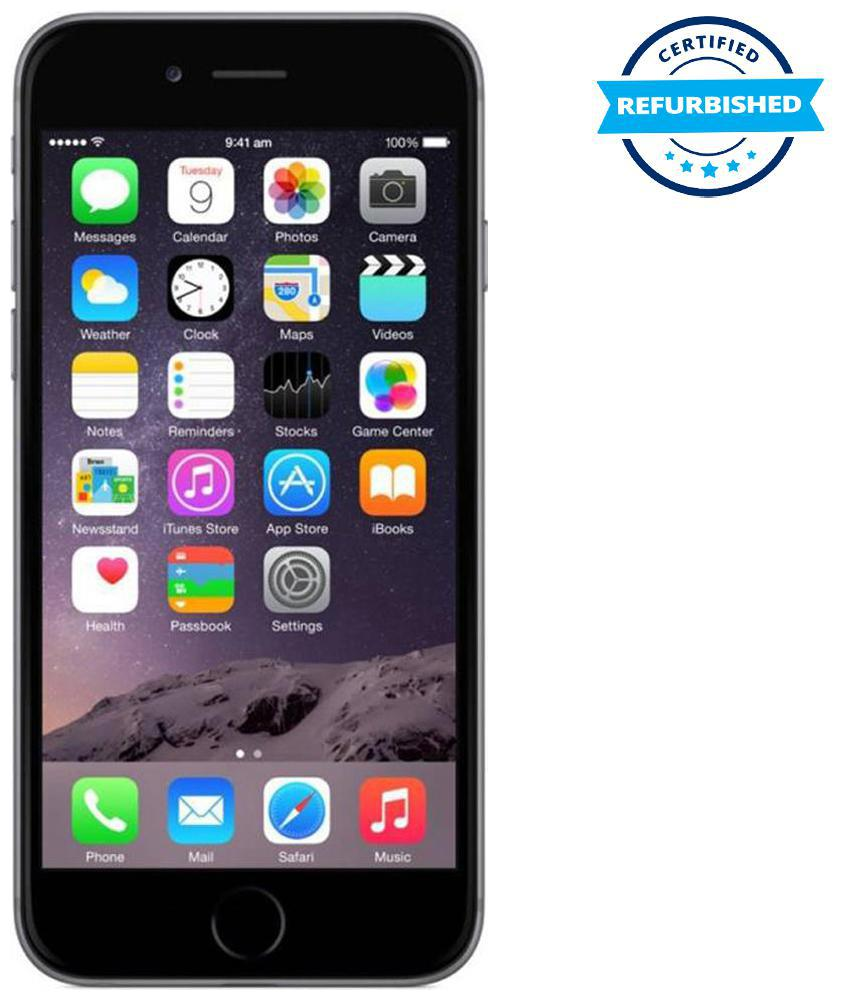 Refurbished Apple iphone 6 1 GB 32 GB Space Grey (Grade: Good)