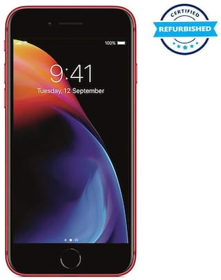 Used Apple Iphone 8 2GB 64GB Red  (Grade: Excellent)