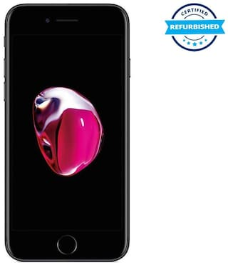 Refurbished Apple Iphone 7 2 GB 128 GB Black  (Grade: Good)