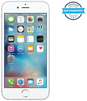 Refurbished Apple iPhone 6s 16 GB Silver  (Grade: Good)