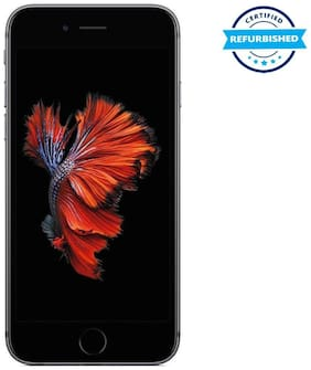 Refurbished Apple iPhone 6s 2 GB 64 GB Space Grey  (Grade: Excellent)