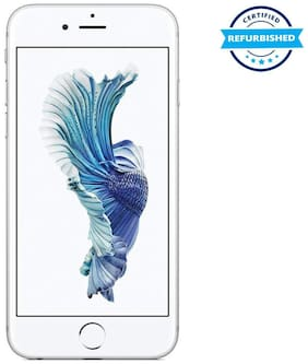 Refurbished Apple iPhone 6s 2 GB 16 GB Silver  (Grade: Excellent)