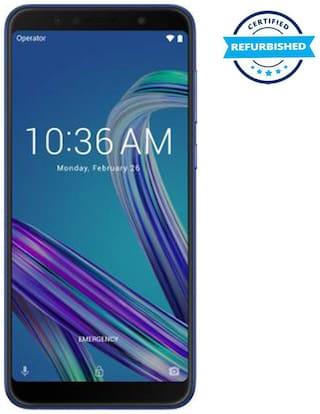 Refurbished Asus Max Pro M1 6 GB 64 GB Blue  (Grade: Brand Certified)