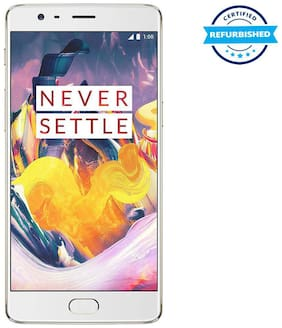 Refurbished OnePlus 3T 6 GB 64 GB Soft Gold  (Grade: Excellent)