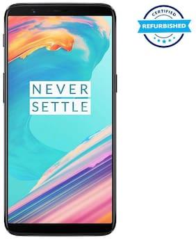 Refurbished OnePlus 5T 6 GB 64 GB Midnight Black  (Grade: Excellent)