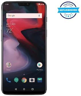 Refurbished OnePlus 6 8 GB 128 GB Mirror Black  (Grade: Excellent)