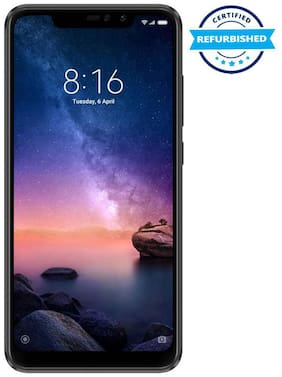 Refurbished Redmi Note 6 Pro 4GB 64GB Black  (Grade: Excellent)