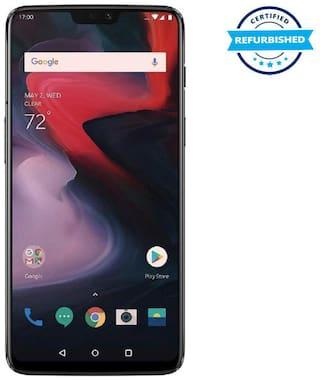Used OnePlus 6 8GB 128GB Mirror Black  (Grade: Excellent)