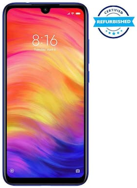 Refurbished Redmi note 7 Pro 4GB 64GB Nebula Blue  (Grade: Excellent)