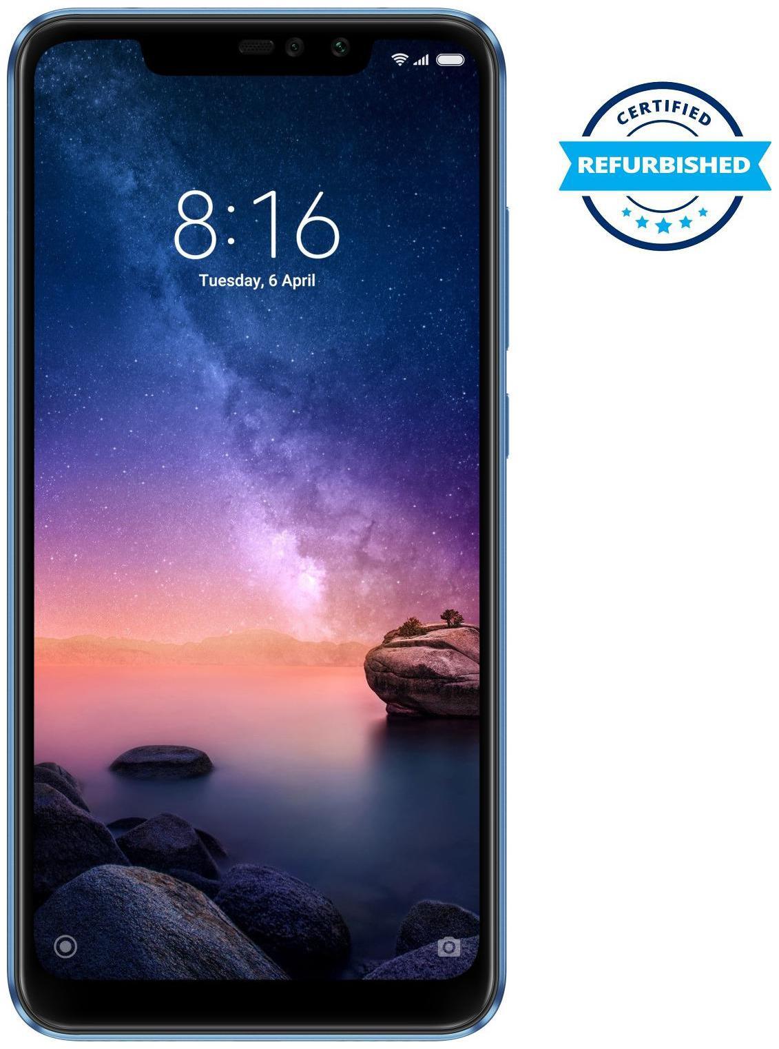 Used Xiaomi Redmi Note 6 Pro 6GB 64GB Blue (Grade : Good)