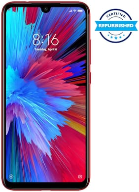Refurbished Xiaomi Redmi Note 7S 3GB 32GB Ruby Red (Grade: Excellent)