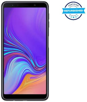 Refurbished Samsung Galaxy A7 2018 4 GB 64 GB Black  (Grade: Excellent)