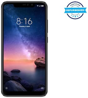 Refurbished Xiaomi Redmi Note 6 Pro 4GB 64GB Black  (Grade: Good)