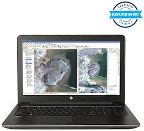 Used HP ZBook 15 G3 Mobile Workstation (Intel Core i7 /128 GB RAM/4 TB SSD/39.62 cm (15.6 inch)/Bluetooth/2 GB Dedicated Graphics/Numeric Keyboard/Dark Grey) (Grade: Excellent)
