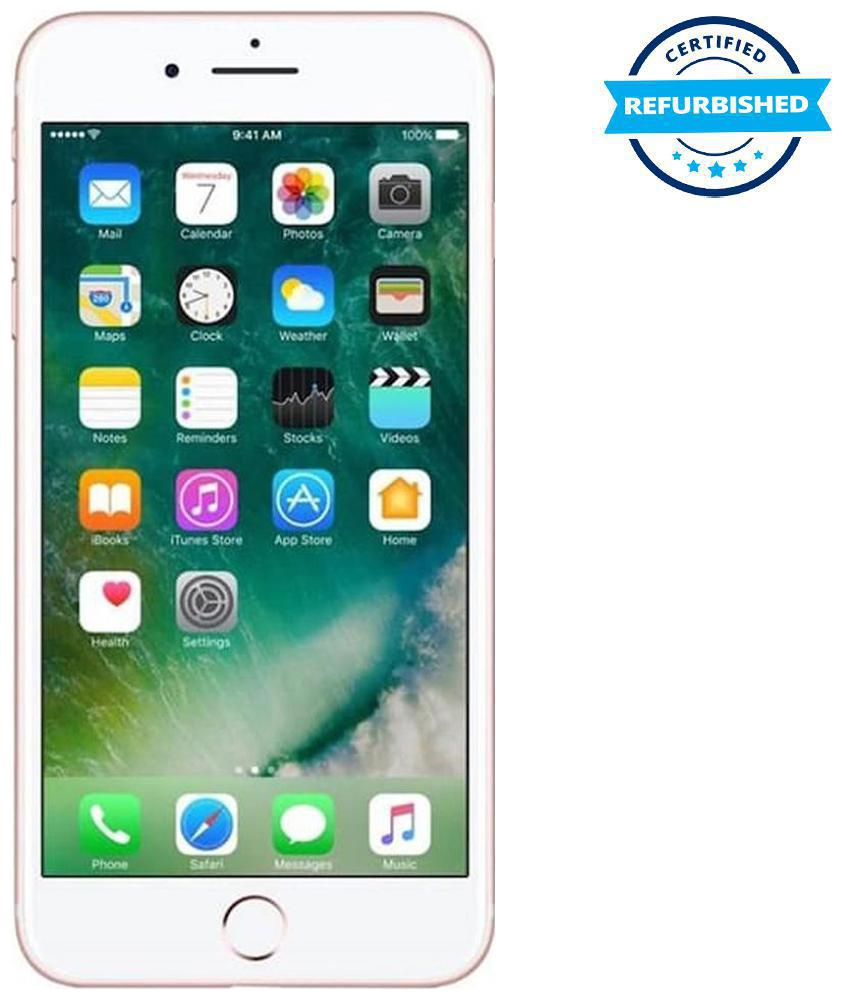 Refurbished Apple iPhone 7 plus 3 GB 128 GB Rose Gold (Grade:...