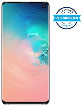 Refurbished Samsung Galaxy S10 Prism White 8GB 128GB (Grade : Good)
