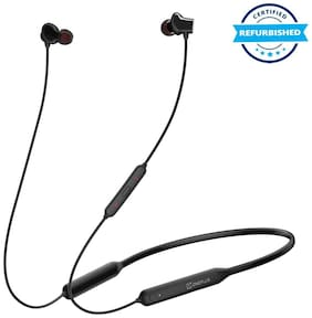 Refurbished OnePlus Bullets Wireless Z Bluetooth Headset (Black)