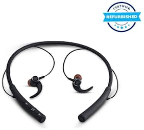 Used iBall EarWear Base BT 5.0 Neckband Earphone with Mic and 12 Hours Battery Life - Black (Grade: Excellent)