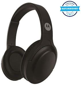 Used Motorola Escape 200 Over-Ear Bluetooth Headphones With Alexa (Black) (Grade Excelllent)