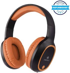 Refurbished Zebronics Zeb-Thunder Wireless BT Headphone Brown (Grade: Excellent)