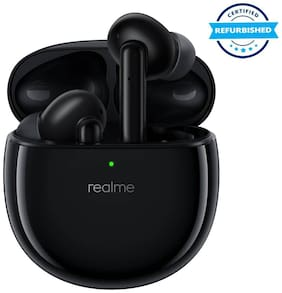Used Realme Buds Air Pro Active Noise Cancellation Enabled Bluetooth Headset (Matte Black) (Grade Excellent)