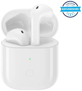 Used Realme Buds Air Neo Bluetooth Headset (White, True Wireless) (Grade Excelllent)