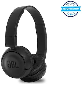 Used JBL T460BT Extra Bass Wireless On-Ear Headphones with Mic - Black (Grade: Excellent)