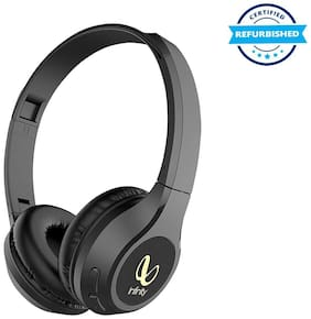 Used JBL Infinity Glide 500 Wireless Headphones with Deep Bass and Dual Equalizer - Charcoal Black (Grade: Excellent)
