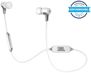 Used JBL E25BT Wireless in-Ear Headphones White (Grade: Excellent)
