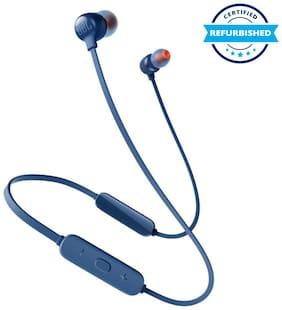 Refurbished JBL Tune 115BT in-Ear Wireless Headphones Blue (Grade: Excellent)