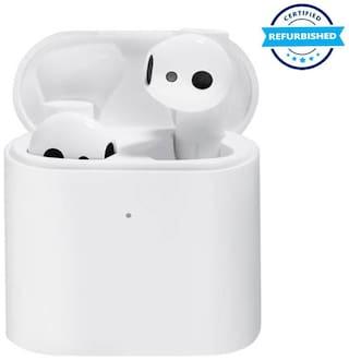 Used Mi True Wireless Earphones 2 Bluetooth Headset (White, True Wireless) (Grade Excelllent)