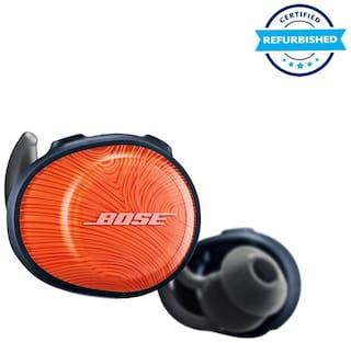 Used Bose SoundSport Free True Wireless Earbuds - Bright Orange (Grade: Excellent)