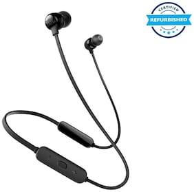 Refurbished JBL Tune 115BT in-Ear Wireless Headphones with Deep Bass - Black (Grade: Excellent)