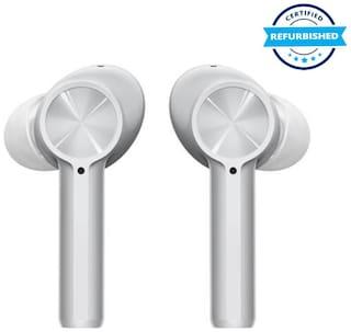 Used Oneplus Buds Z Bluetooth Headset (Grey, True Wireless) (Grade Excelllent)