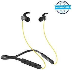 Used boAt Rockerz 255 Pro In-Ear Bluetooth Neckband Earphone with Mic -Yellow (Grade: Brand Certified)