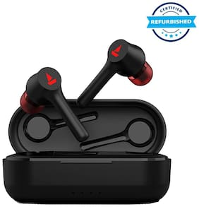 Used boAt Airdopes 281 Bluetooth Truly Wireless Earbuds with Mic - Active Black (Grade: Brand Certified)