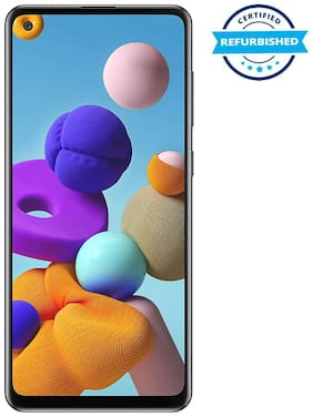 Refurbished Samsung Galaxy A21s 4GB 64GB Black (Grade: Like New)