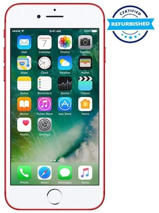 Used Apple Iphone 7 2GB 128GB Red  (Grade: Excellent)