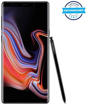 Refurbished Samsung Galaxy Note 9 6 GB 128 GB Midnight Black  (Grade: Good)