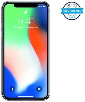 Used Apple iPhone X 3GB 256GB Silver  (Grade: Excellent)