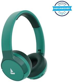 Used boAt Rockerz 650 On-Ear Bluetooth Headset (Green) (Grade: Good)